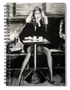 Tribute To Helmut Newton Spiral Notebook