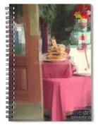 Little Italy - Rustic Door Spiral Notebook