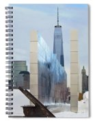 Tribute To Sept 11 Spiral Notebook