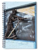 Tribute To The Miner Spiral Notebook
