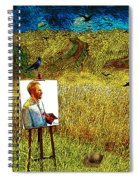 Tribute To Vincent Van Gogh - His Final Days Spiral Notebook