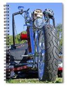 Tricycle Of Death Spiral Notebook