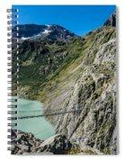 Triftsee Suspension Bridge - Gadmen - Switzerland Spiral Notebook