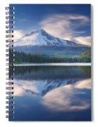 Trillium Lake Escape Spiral Notebook
