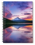 Trillium Lake Sunrise Spiral Notebook