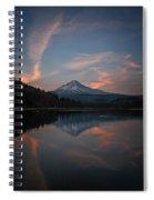 Trillium Twilight Spiral Notebook