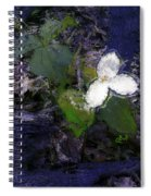 Trilliums Spiral Notebook