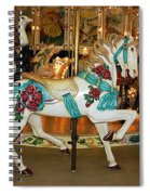 Trimper's Carousel 3 Spiral Notebook