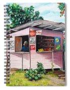 Trini Roti Shop Spiral Notebook