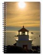 Trinidad Memorial Lighthouse Spiral Notebook