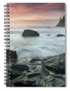 Trinidad Sunset Seascape Spiral Notebook