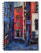 Trinite Square Lyon Spiral Notebook