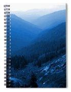 Trinity #2 Enhanced In Blue Spiral Notebook