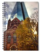 Trinity And The Hancock Spiral Notebook