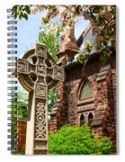 Trinity Church Garden  7d02024 Spiral Notebook
