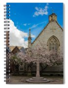 Trinity Courtyard Spiral Notebook