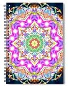 Trinity Of Light K2 Spiral Notebook