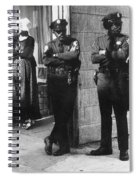 Trio Of Arm Crossers San Francisco California 1972 Spiral Notebook