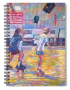 Trios At Dominion Skating Rink Spiral Notebook