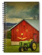 Trip To The Happy Farm Spiral Notebook