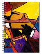 Trip Trio 3 Of 3 Spiral Notebook