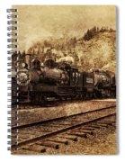 Triple Header Spiral Notebook