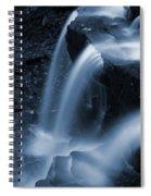 Triple Plunge Twilight Waterfall Spiral Notebook