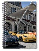 Triple Threat Spiral Notebook