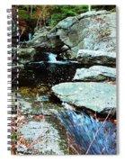 Triple Waterfall Spiral Notebook
