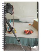 Tripod And Bowl Of Fruit Spiral Notebook