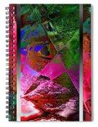 Triptych Chic Spiral Notebook