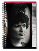 Triptych Jackie Sharkey Center Panel Cinco De Mayo Nogales Sonora 1969-2011 Spiral Notebook