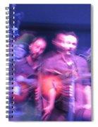 tripy photo of Dave Matthews Spiral Notebook