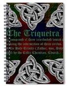 Triquetra Spiral Notebook