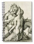 Triton With The Nereid Spiral Notebook
