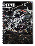 Triumph Abstract Spiral Notebook