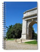 Triumph And Sorrow Arch  Spiral Notebook