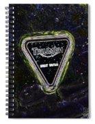 Triumph 3 Spiral Notebook