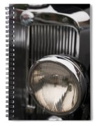 Triumph Roadster One Headlight Spiral Notebook