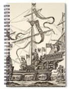 Triumphal Vessel Spiral Notebook