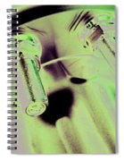 Triumvirate Alloy Spiral Notebook