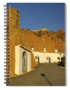 Troglodyte Caves Spiral Notebook