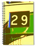 Trolley 29 Spiral Notebook