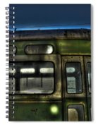 Trolley Windows Spiral Notebook