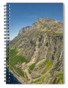 Trollstigen From The Very Top Spiral Notebook