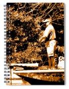 Trol'n 4 Bass Spiral Notebook