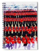 Trooping The Colour Spiral Notebook