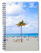 Tropical Beach Spiral Notebook