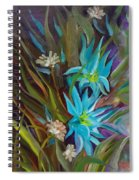 Tropical Blue Spiral Notebook