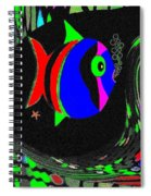 Tropical Cave Fish 1 Spiral Notebook